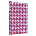HOUNDSTOOTH1 WHITE MARBLE & PINK DENIM Apple iPad Mini Hardshell Case View2