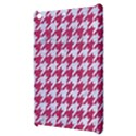 HOUNDSTOOTH1 WHITE MARBLE & PINK DENIM Apple iPad Mini Hardshell Case View3