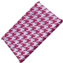 HOUNDSTOOTH1 WHITE MARBLE & PINK DENIM Apple iPad Mini Hardshell Case View4