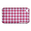 HOUNDSTOOTH1 WHITE MARBLE & PINK DENIM iPhone 3S/3GS View1