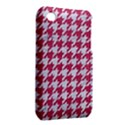 HOUNDSTOOTH1 WHITE MARBLE & PINK DENIM iPhone 3S/3GS View2