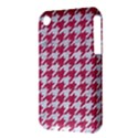HOUNDSTOOTH1 WHITE MARBLE & PINK DENIM iPhone 3S/3GS View3