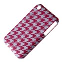 HOUNDSTOOTH1 WHITE MARBLE & PINK DENIM iPhone 3S/3GS View4