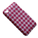 HOUNDSTOOTH1 WHITE MARBLE & PINK DENIM iPhone 3S/3GS View5