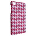 HOUNDSTOOTH1 WHITE MARBLE & PINK DENIM Samsung Galaxy Tab Pro 8.4 Hardshell Case View2