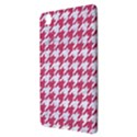 HOUNDSTOOTH1 WHITE MARBLE & PINK DENIM Samsung Galaxy Tab Pro 8.4 Hardshell Case View3