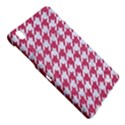 HOUNDSTOOTH1 WHITE MARBLE & PINK DENIM Samsung Galaxy Tab Pro 8.4 Hardshell Case View4
