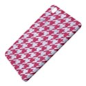 HOUNDSTOOTH1 WHITE MARBLE & PINK DENIM Samsung Galaxy Tab Pro 8.4 Hardshell Case View5