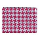 HOUNDSTOOTH1 WHITE MARBLE & PINK DENIM iPad Air 2 Hardshell Cases View1