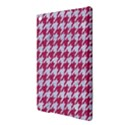 HOUNDSTOOTH1 WHITE MARBLE & PINK DENIM iPad Air 2 Hardshell Cases View3