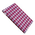 HOUNDSTOOTH1 WHITE MARBLE & PINK DENIM iPad Air 2 Hardshell Cases View5