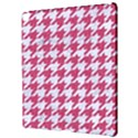 HOUNDSTOOTH1 WHITE MARBLE & PINK DENIM Apple iPad Pro 12.9   Hardshell Case View3