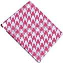 HOUNDSTOOTH1 WHITE MARBLE & PINK DENIM Apple iPad Pro 12.9   Hardshell Case View4