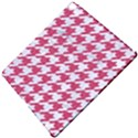 HOUNDSTOOTH1 WHITE MARBLE & PINK DENIM Apple iPad Pro 12.9   Hardshell Case View5