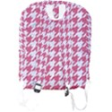HOUNDSTOOTH1 WHITE MARBLE & PINK DENIM Full Print Backpack View2