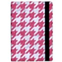 HOUNDSTOOTH1 WHITE MARBLE & PINK DENIM Apple iPad Pro 10.5   Flip Case View2