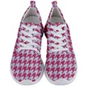 HOUNDSTOOTH1 WHITE MARBLE & PINK DENIM Men s Lightweight Sports Shoes View1