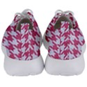 HOUNDSTOOTH1 WHITE MARBLE & PINK DENIM Men s Lightweight Sports Shoes View4