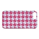HOUNDSTOOTH1 WHITE MARBLE & PINK DENIM Apple iPhone 8 Plus Hardshell Case View1
