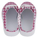 HOUNDSTOOTH1 WHITE MARBLE & PINK DENIM Half Slippers View4