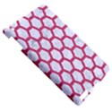 HEXAGON2 WHITE MARBLE & PINK DENIM (R) Apple iPad 3/4 Hardshell Case View5