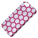HEXAGON2 WHITE MARBLE & PINK DENIM (R) Apple iPhone 5 Classic Hardshell Case View4