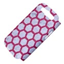 HEXAGON2 WHITE MARBLE & PINK DENIM (R) Samsung Galaxy S III Hardshell Case (PC+Silicone) View4
