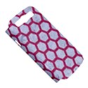HEXAGON2 WHITE MARBLE & PINK DENIM (R) Samsung Galaxy S III Hardshell Case (PC+Silicone) View5