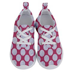 Circles2 White Marble & Pink Denim Running Shoes