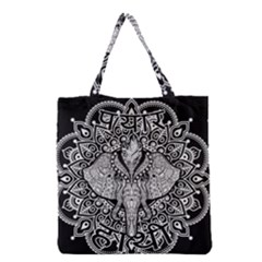 Ornate Hindu Elephant  Grocery Tote Bag