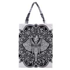 Ornate Hindu Elephant  Classic Tote Bag