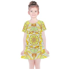 Joy   Kids  Simple Cotton Dress by tealswan