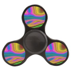 Colorful Waves Finger Spinner by LoolyElzayat