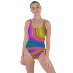 Colorful Waves Bring Sexy Back Swimsuit