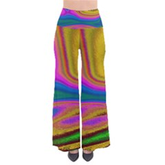Colorful Waves So Vintage Palazzo Pants