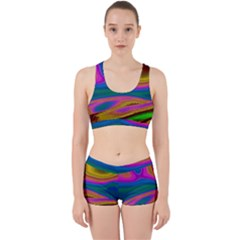 Colorful Waves Work It Out Gym Set