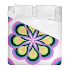 Colorful Feathers Mandala Duvet Cover (full/ Double Size)