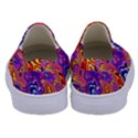 Colorful texture                                Kids  Canvas Slip Ons View4