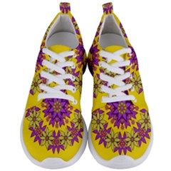 Fantasy Flower Wreath With Jungle Florals Men s Lightweight Sports Shoes