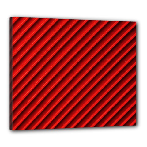 Abstract Red Art Canvas 24  X 20  by goodart