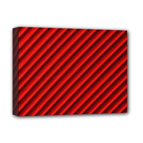 Abstract Red Art Deluxe Canvas 16  X 12   by goodart