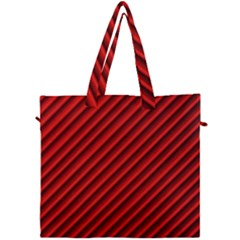 Abstract Red Art Canvas Travel Bag by goodart