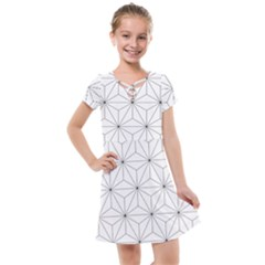 Making Of Kirikan Pattern Kids  Cross Web Dress by goodart