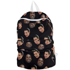 Crying Kim Kardashian Foldable Lightweight Backpack by Valentinaart