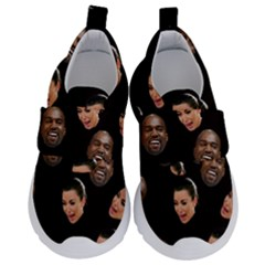 Crying Kim Kardashian Velcro Strap Shoes by Valentinaart