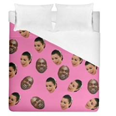 Crying Kim Kardashian Duvet Cover (queen Size) by Valentinaart