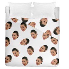 Crying Kim Kardashian Duvet Cover Double Side (Queen Size)