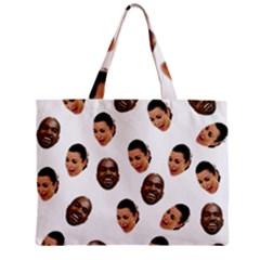 Crying Kim Kardashian Zipper Mini Tote Bag by Valentinaart