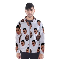 Crying Kim Kardashian Windbreaker (men) by Valentinaart
