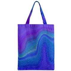 Marble Shades Elephant Texture Zipper Classic Tote Bag